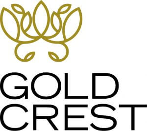 Gold Crest Stacked B G 100